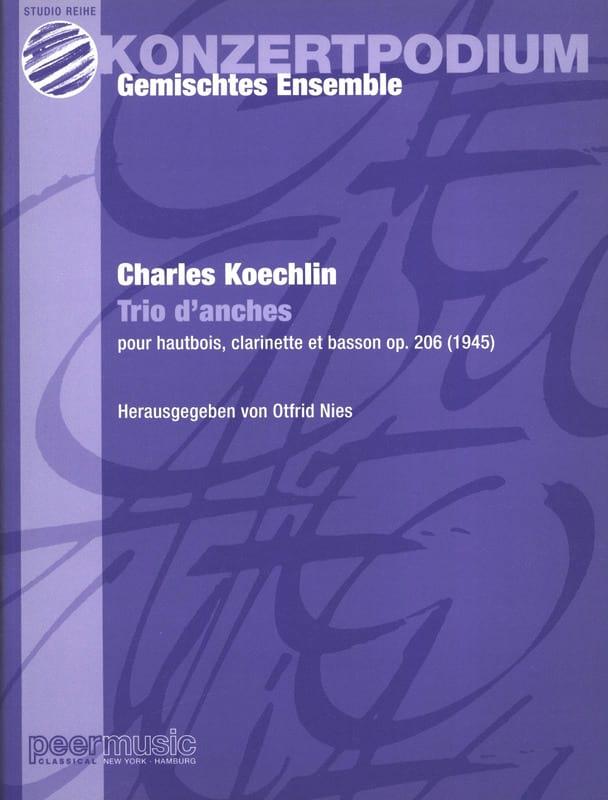 Trio d'anches op. 206 -Partitur + Stimmen - laflutedepan.com