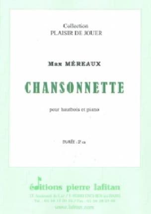 Chansonnette - Hautbois/Piano - Max Méreaux - laflutedepan.com