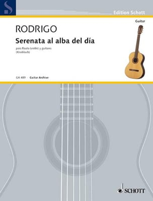 Serenata al alba del dia - flauta violin y guitarra laflutedepan