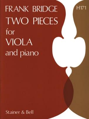 2 Pieces for viola and piano Frank Bridge Partition laflutedepan