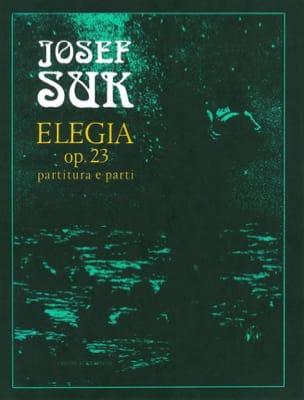 Elegie Op.23 Josef Suk Partition OCTUORS - laflutedepan