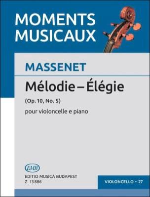 Elégie MASSENET Partition Violoncelle - laflutedepan