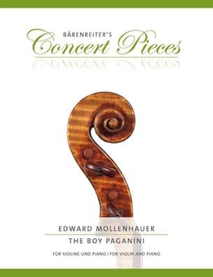 The Boy Paganini - Violon et piano Edward Mollenhauer laflutedepan