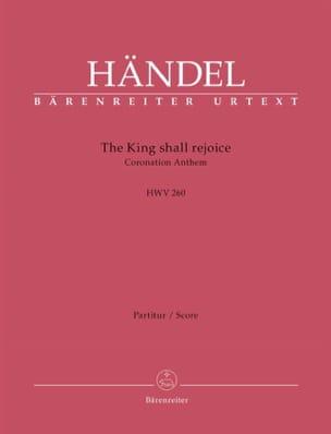 The King shall rejoice, HWV 260 - Conducteur HAENDEL laflutedepan