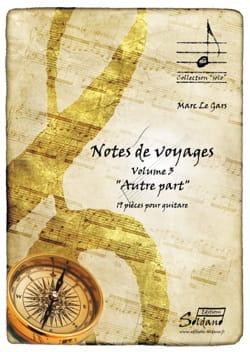 Notes de voyages - Volume 3