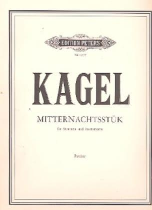 Mitternachtsstük - Partitur - Mauricio Kagel - laflutedepan.com