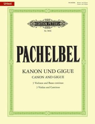 Kanon und Gigue -Trois violons et basse continue laflutedepan