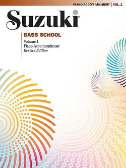 Bass School - Piano Accomp. Volume 1 SUZUKI Partition laflutedepan