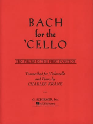 Bach for the Cello BACH Partition Violoncelle - laflutedepan