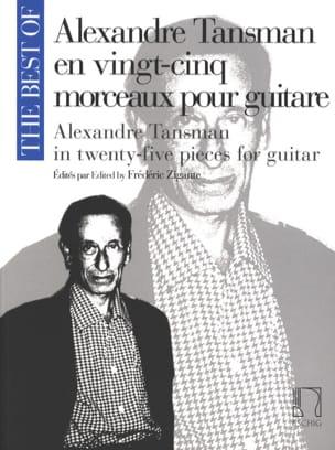 A. Tansman en 25 morceaux pour guitare Alexandre Tansman laflutedepan