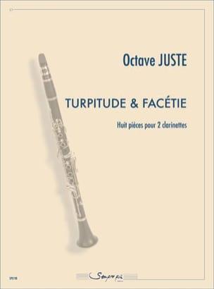 Turpitude & Facétie - Octave Juste - Partition - laflutedepan.com