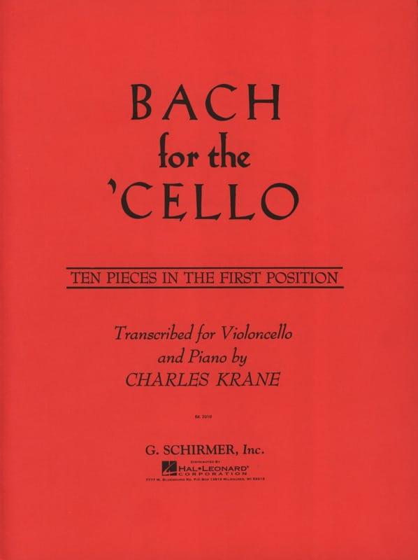 Bach for the Cello - BACH - Partition - Violoncelle - laflutedepan.com