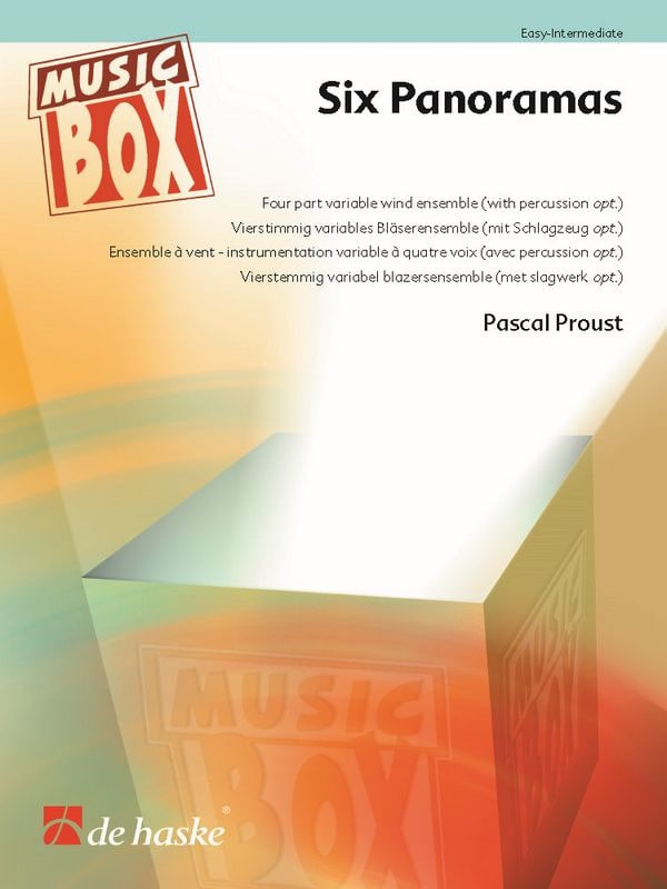 Six Panoramas - Pascal Proust - Partition - laflutedepan.com