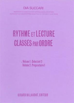 Rythme et lecture - Volume 1 : Déb. 2 Dia Succari laflutedepan