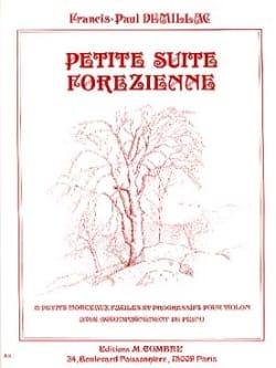 Petite suite forézienne Francis-Paul Demillac Partition laflutedepan