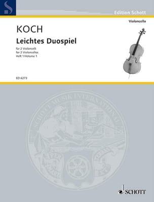Leichtes Duospiel für 2 Violoncelli, Bd 1 - laflutedepan.com