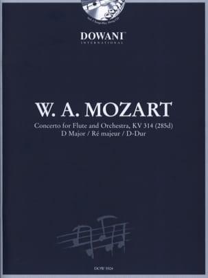 Concerto pour flûte KV 314 ré maj. MOZART Partition laflutedepan