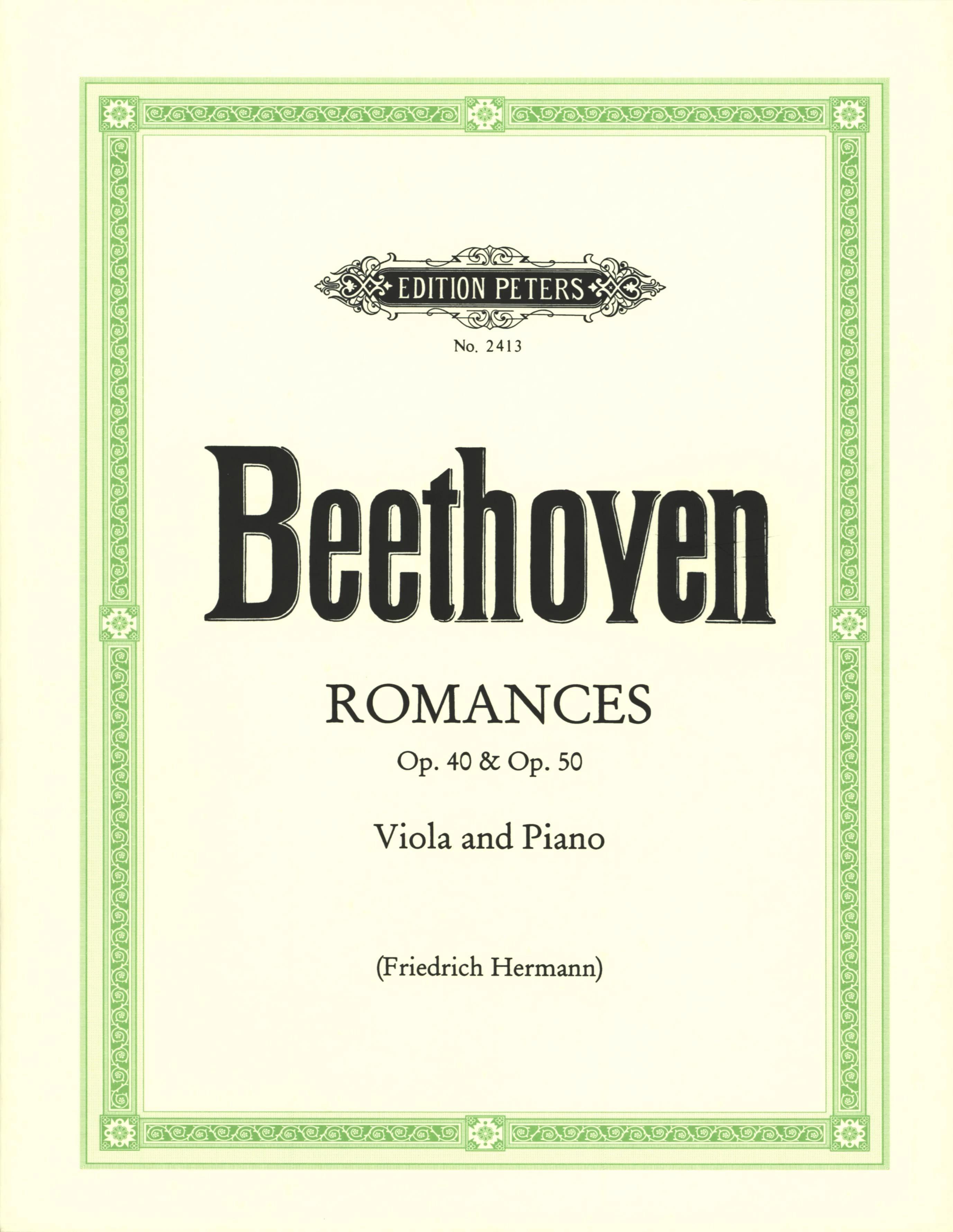 Romances op. 40 and op. 50 - Viola - BEETHOVEN - laflutedepan.com