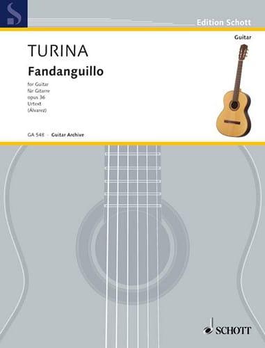 Fandanguillo Opus 36 - TURINA - Partition - Guitare - laflutedepan.com