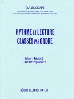 Rythme et lecture - Volume 2 : Prép. 1 Dia Succari laflutedepan