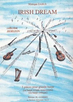 Irish Dream - 3 Pièces pour Harpe - Monique Gabus - laflutedepan.com