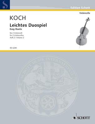 Leichtes Duospiel für 2 Violoncelli, Bd 2 Edwin Koch laflutedepan
