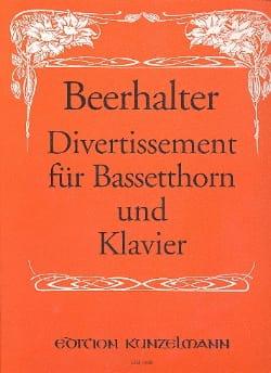 Divertissement für Bassetthorn und Klavier laflutedepan