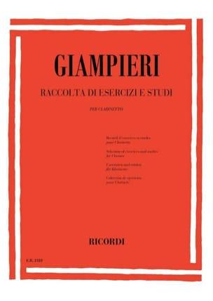 Raccolta di esercizi e studi - Clarinetto laflutedepan