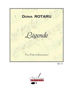 Légende Doina Rotaru Partition Flûte traversière - laflutedepan
