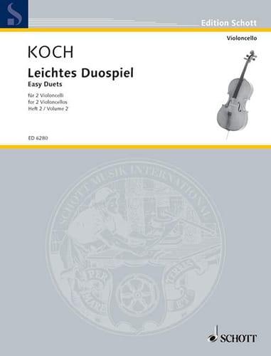 Leichtes Duospiel für 2 Violoncelli, Bd 2 - laflutedepan.com