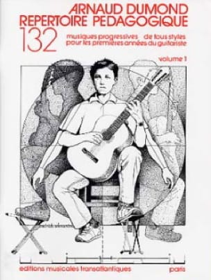 Répertoire pédagogique - Volume 1 - Arnaud Dumond - laflutedepan.com