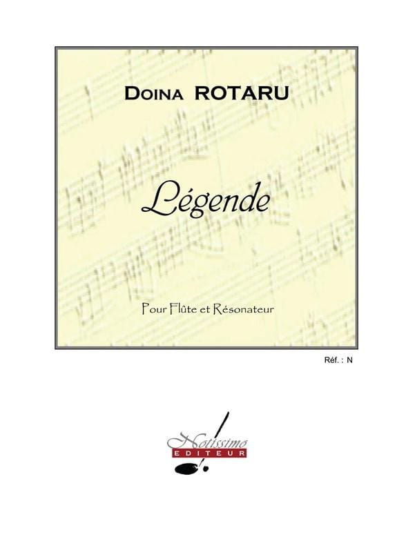 Légende - Doina Rotaru - Partition - laflutedepan.com