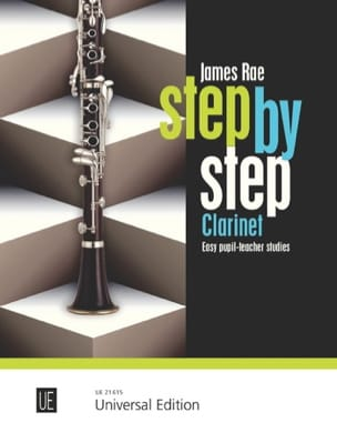 Step by Step James Rae Partition Clarinette - laflutedepan