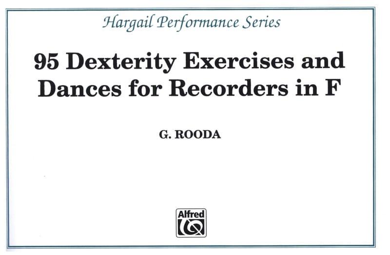 95 Dexterity exercises and Dances - Recorders in F - laflutedepan.com