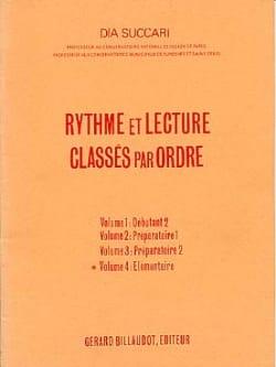 Rythme et Lecture - Volume 4 : Elémentaire Dia Succari laflutedepan