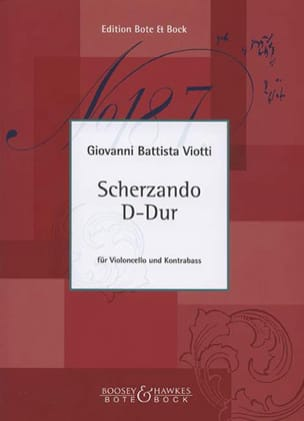 Scherzando D-Dur - Cello Kontrabass VIOTTI Partition 0 - laflutedepan