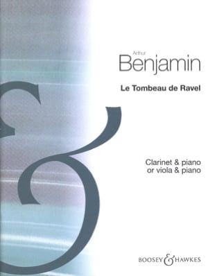 Le Tombeau de Ravel Arthur Benjamin Partition laflutedepan