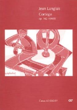 Cortège op. 162 - Partitur Jean Langlais Partition laflutedepan