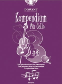 Kompendium Für Cello Volume 3 Partition Violoncelle - laflutedepan