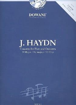 Concerto en Ré Majeur Hob.7f:d1 HAYDN Partition laflutedepan
