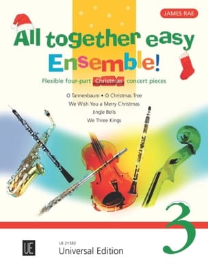All together easy Ensemble ! volume 3 Partition laflutedepan