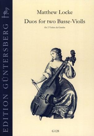 Duos for two Basse-Violls - Matthew Locke - laflutedepan.com