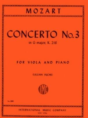 Concerto n° 3 in G major KV 216 - MOZART - laflutedepan.com