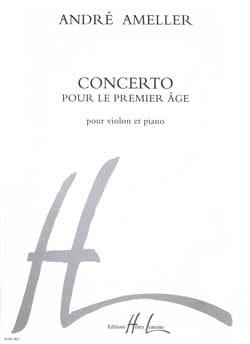 Concerto pour le premier âge André Ameller Partition laflutedepan
