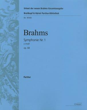 Symphonie N° 1 C-Moll Op. 68 BRAHMS Partition laflutedepan