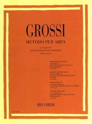 Méthode pour harpe Maria Grossi Partition Harpe - laflutedepan