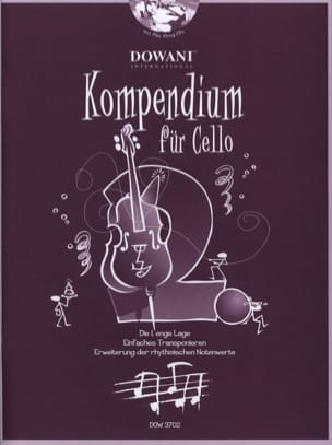 Kompendium Für Cello Volume 2 - Partition - laflutedepan.com