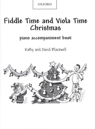 Fiddle Time And Viola Time Christmas - Piano Accompaniment laflutedepan