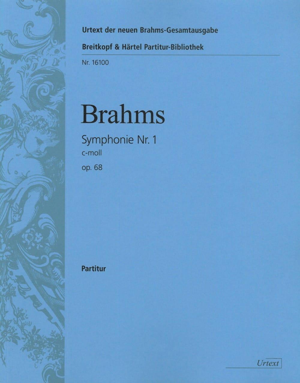 Symphonie N° 1 C-Moll Op. 68 - BRAHMS - Partition - laflutedepan.com