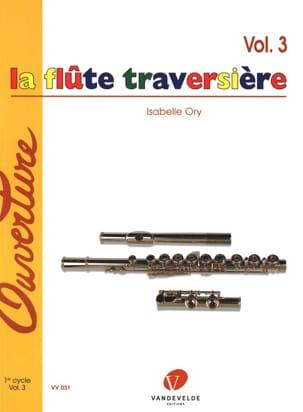 La Flûte Traversière Volume 3 Isabelle Ory Partition laflutedepan